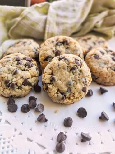 עוגיות שוקולד צ'יפס בסגנון אמריקאי, רכות וממכרות